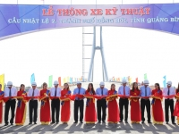 Lễ thông xe kỹ thuật cầu Nhật Lệ 2 tại thành phố Đồng Hới, tỉnh Quảng Bình